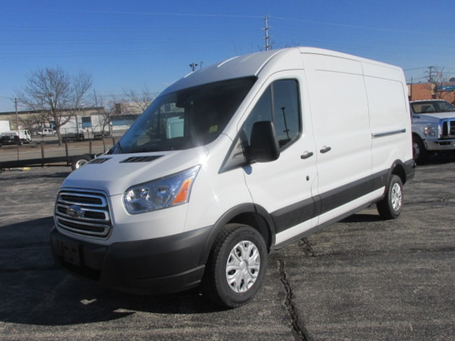 2019 Ford Transit-250 Base w/Dual Sliding Side Cargo Doors Van Medium Roof Cargo Van
