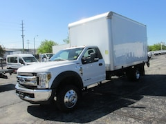 2018 Ford F-550 16' Dry box with 2500lb lift gate Reg Cab