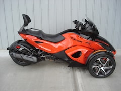 2014 CAN-AM Spyder RS-S SE5 Orange