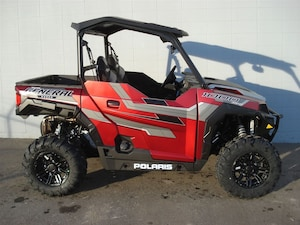 2018 POLARIS General 1000 EPS Ride Command Edition Red