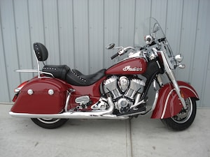 2016 Indian Motorcycles Springfield Red