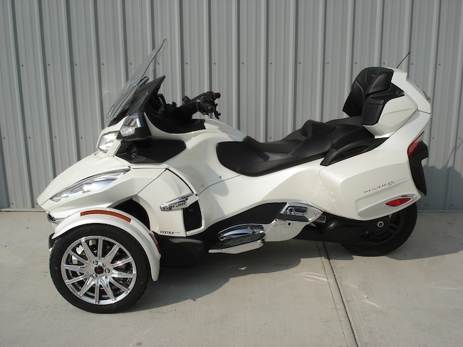 2015 CAN-AM Spyder  RT  Limited  SE6 White