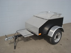 2013 Marlon Motorcycle Trailer Black