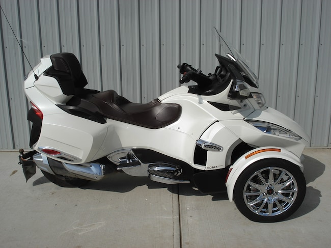 2013 CAN-AM Spyder RT SE5 Limited White