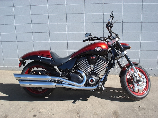 2007 VICTORY MOTORCYCLES Hammer S Black/ Red