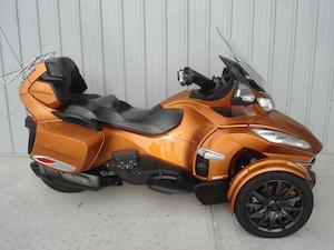 2014 CAN-AM Spyder RT-S SE6 Orange