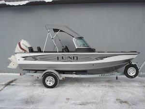 2018 LUND BOAT CO 1775 Impact Sport White