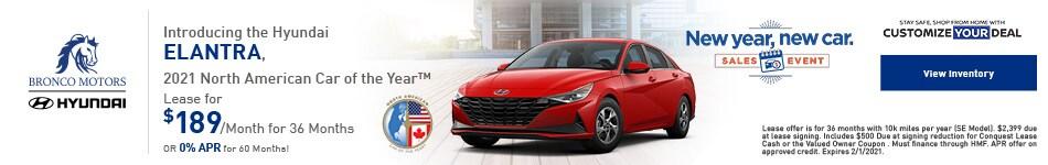Hyundai ELANTRA, 2021 North American Car of the Year™ - January