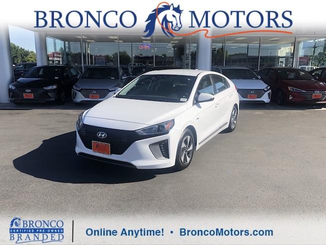 2017 Hyundai Ioniq Hybrid SEL Hatchback