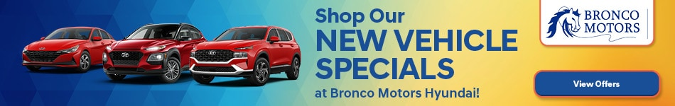 Shop Our New Vehicle Specials