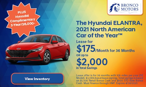 The Hyundai ELANTRA, 2021 North American Car of the Year™- April