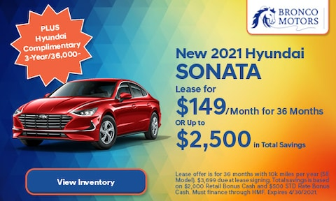 New 2021 Hyundai Sonata- April