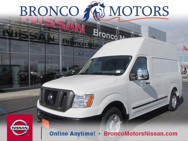 2018 Nissan NV Cargo NV2500 HD SV V8 Van High Roof Cargo Van