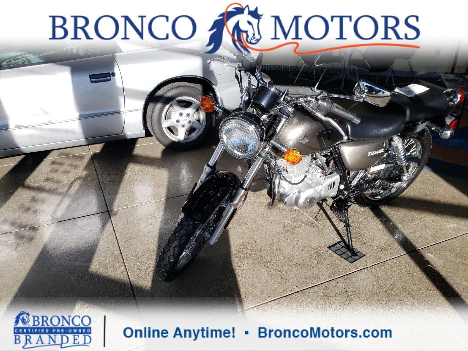 2012 Suzuki Motorcycle TU250