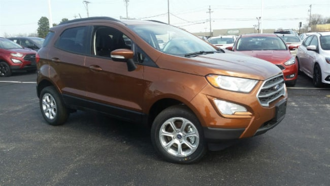 New 2018 Ford EcoSport SE SUV For Sale/Lease Maumee, OH