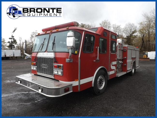 1999 E-One S/A Crew Cab Fire Truck