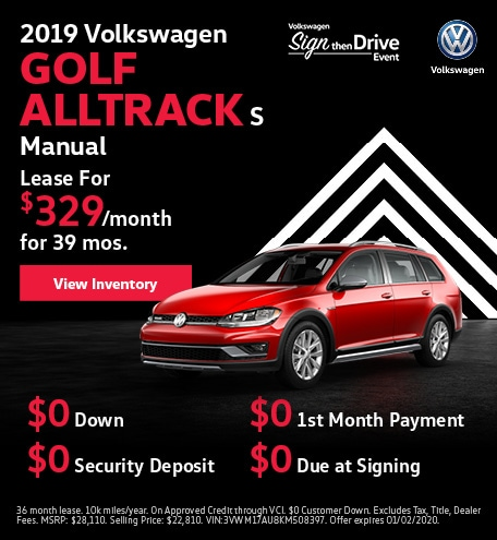 2019 Volkswagen Golf Alltrack S Manual