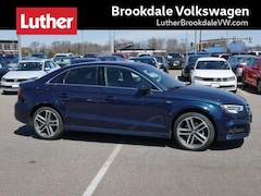 2017 Audi A3 Sedan 2.0 Tfsi Premium Plus Quattro AWD Sedan