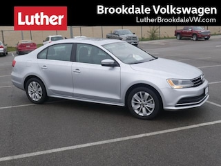2015 Volkswagen Jetta Sedan Auto 1.8T SE w/Connectivity Pzev Sedan