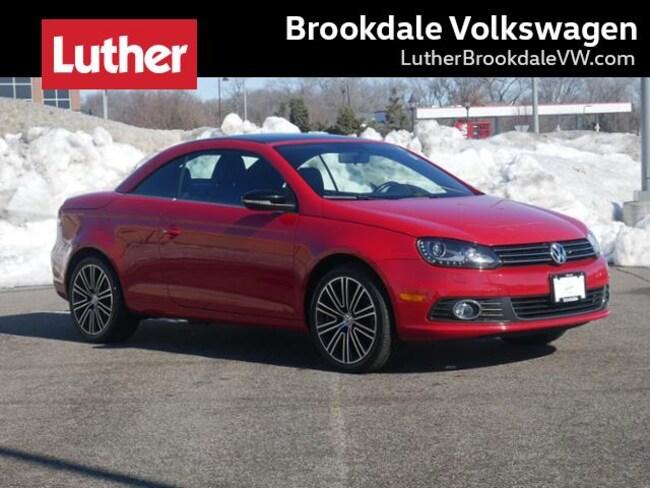 2013 Volkswagen Eos Komfort Sulev Convertible