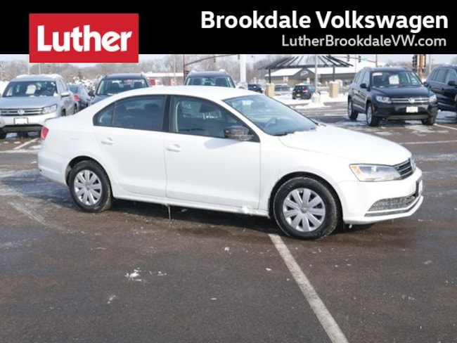 2015 Volkswagen Jetta Sedan Auto 2.0L S Sedan