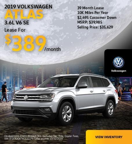 2019 Atlas October Offer
