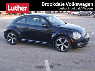 2012 Volkswagen Beetle Man 2.0T Turbo Pzev Hatchback