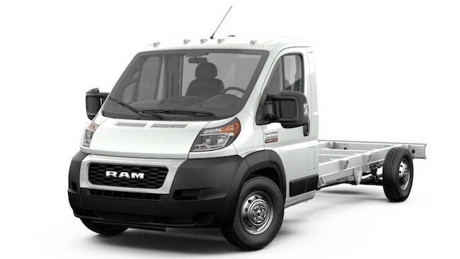 New 2019 Ram ProMaster 3500 CUTAWAY 159 WB EXT / 104 CA Chassis Extended for sale in Benton Harbor MI