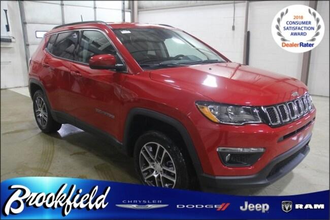 New 2018 Jeep Compass LATITUDE 4X4 Sport Utility for sale in Benton Harbor MI