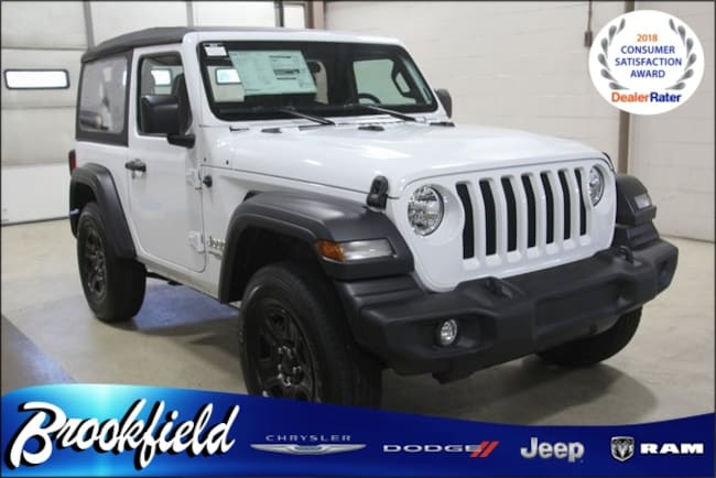 New 2018 Jeep Wrangler SPORT 4X4 Sport Utility for sale in Benton Harbor MI