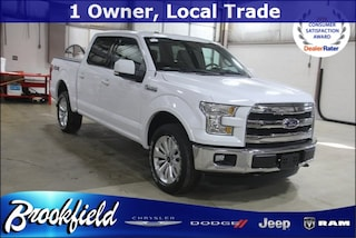Used 2015 Ford F-150 Lariat Truck for sale in Benton Harbor, MI
