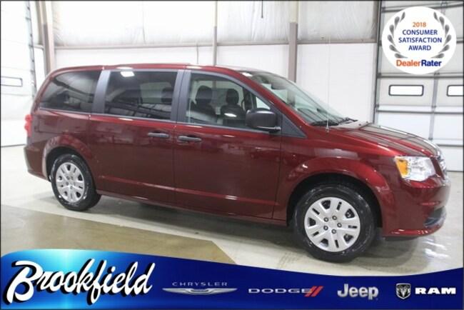 New 2019 Dodge Grand Caravan SE Passenger Van for sale in Benton Harbor MI
