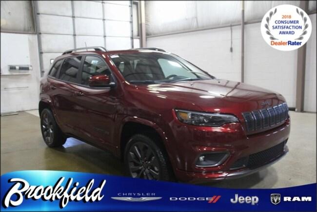 New 2019 Jeep Cherokee HIGH ALTITUDE 4X4 Sport Utility for sale in Benton Harbor MI