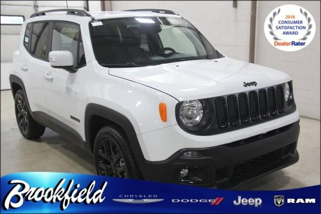 New 2018 Jeep Renegade ALTITUDE 4X2 Sport Utility for sale in Benton Harbor MI
