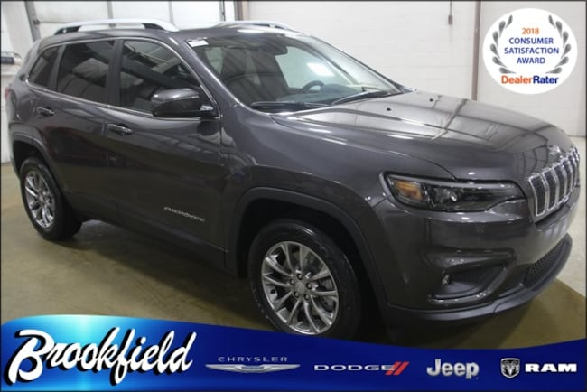 New 2019 Jeep Cherokee LATITUDE PLUS FWD Sport Utility for sale in Benton Harbor MI