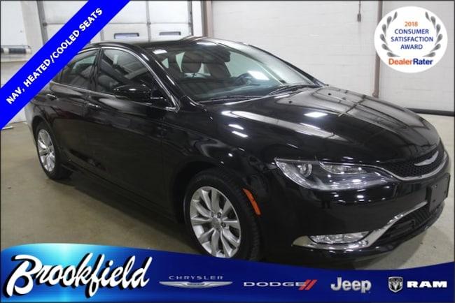 Used 2015 Chrysler 200 C Sedan for sale in Benton Harbor, MI