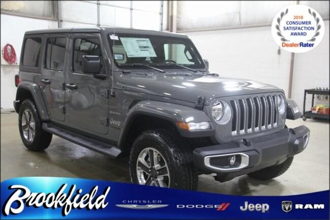 New 2019 Jeep Wrangler UNLIMITED SAHARA 4X4 Sport Utility for sale in Benton Harbor MI
