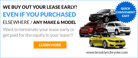 We buyout your lease early!