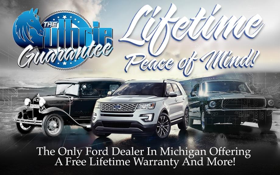 Guthrie Ford | New Ford dealership in Brooklyn, MI 49230