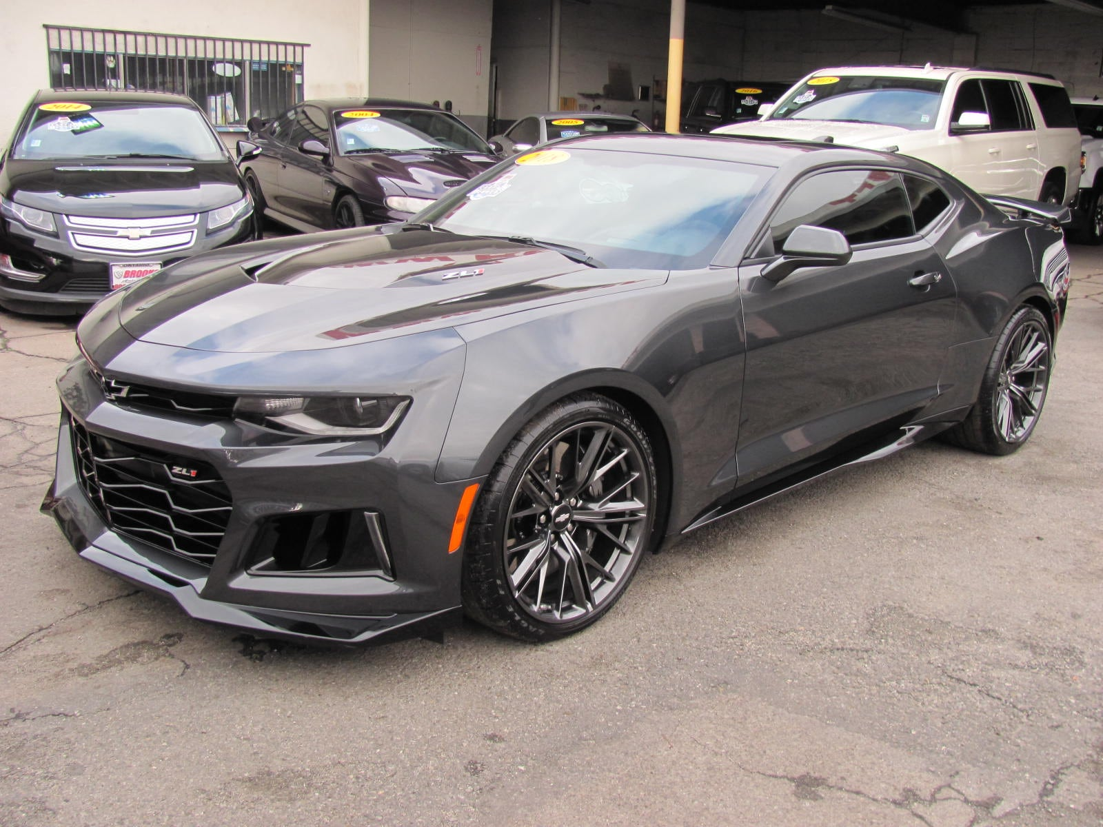 2018 Chevrolet Camaro ZL1 Supercharged (6 Speed Manual) Coupe