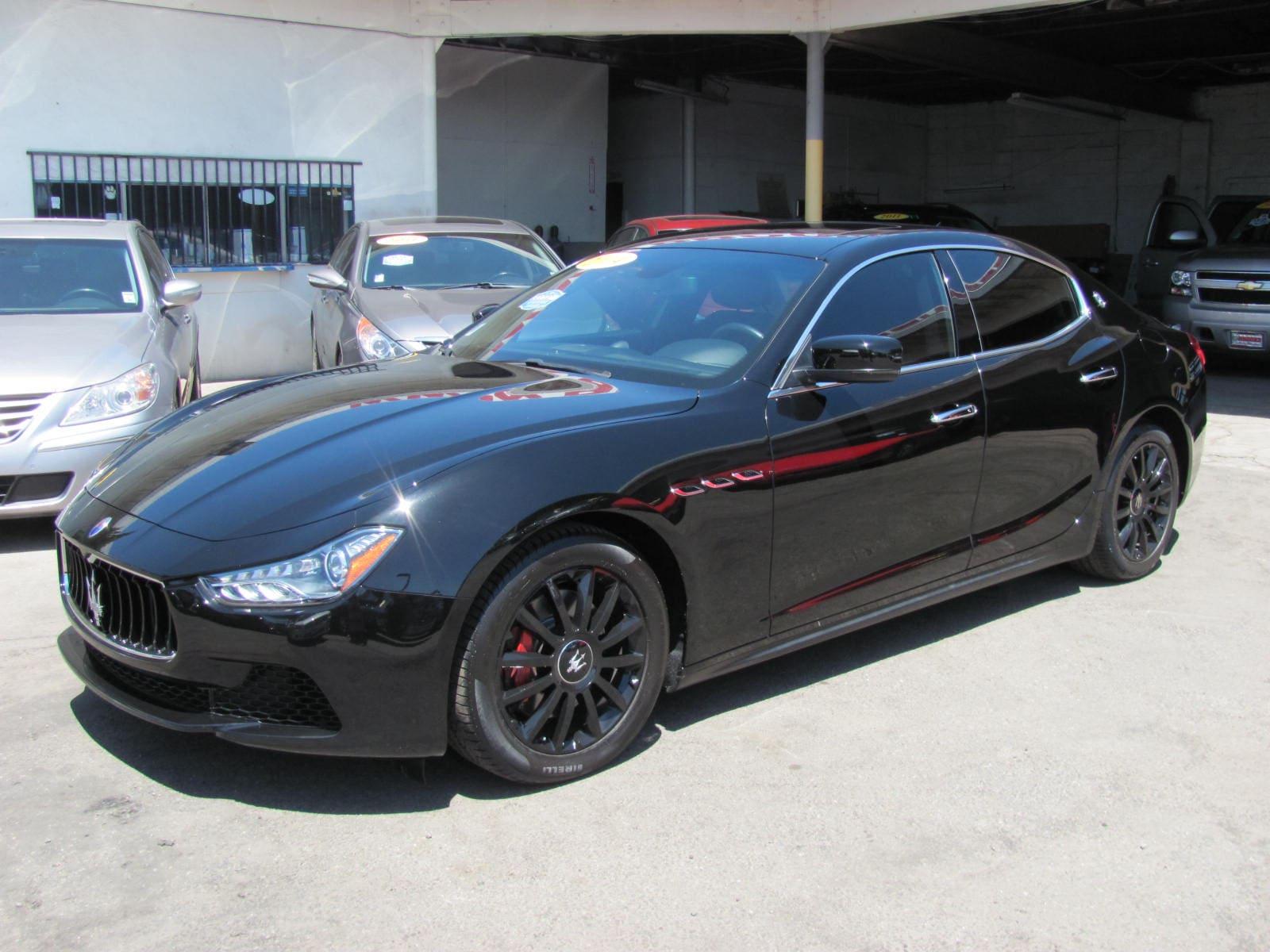 2014 Maserati Ghibli Sport Pkg Sedan
