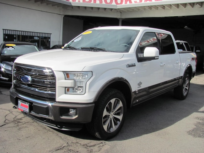 2016 Ford F-150 SuperCrew Cab King Ranch 4WD 4 Door