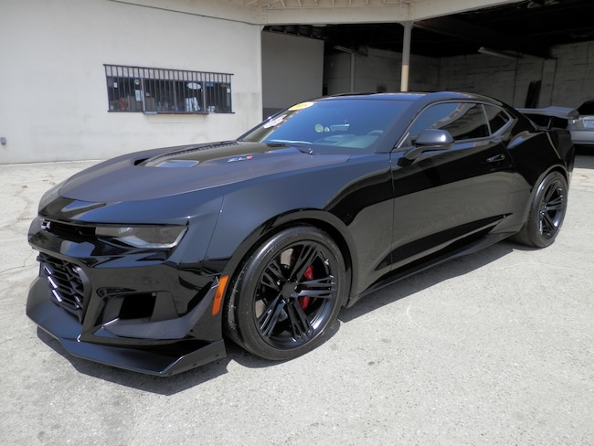 2018 Chevrolet Camaro ZL1 Supercharged 6.2 L w/1LE Track Pkg. (Only 2310 Coupe