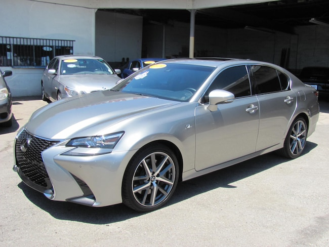 2019 LEXUS GS 350 F Sport Sedan