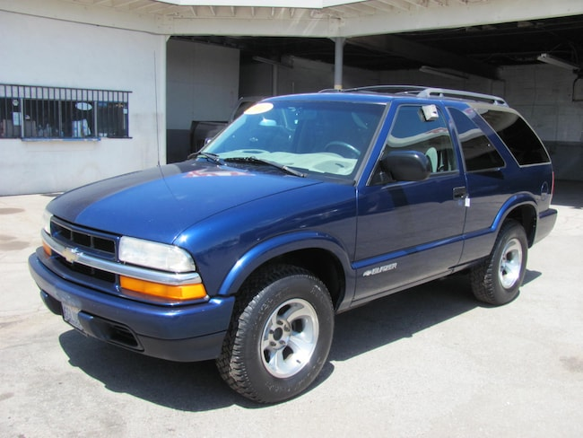 2001 Chevrolet Blazer LS 2 Door SUV