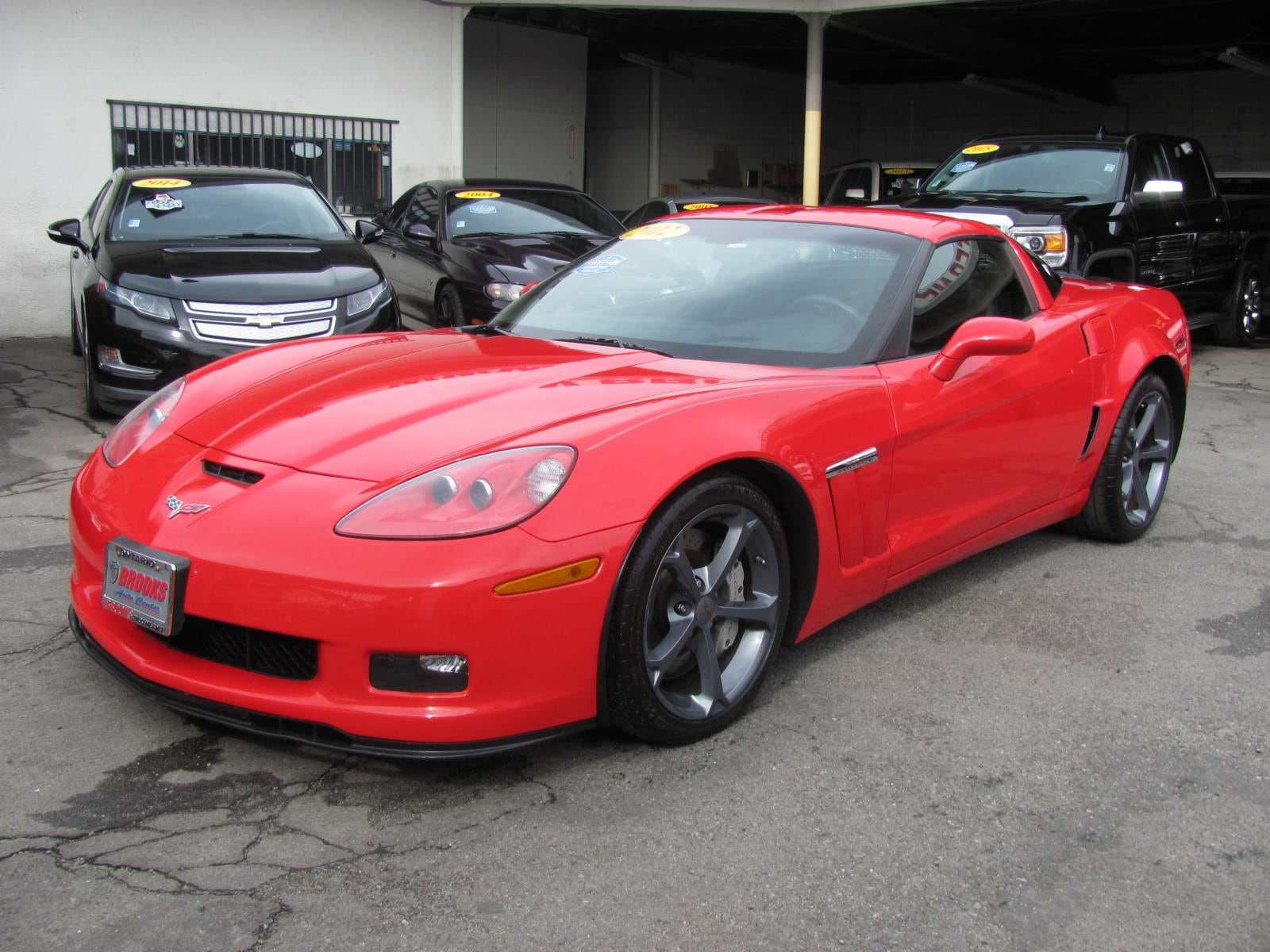 2012 Chevrolet Corvette Grand Sport Coupe