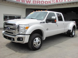 2014 Ford F-450 Lariat (6.7 Turbo Diesel 4WD Dually)