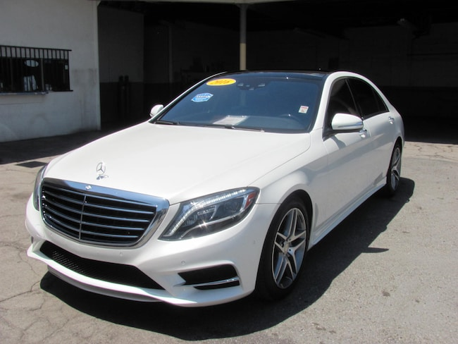 2016 Mercedes-Benz S-Class S 550 Sedan