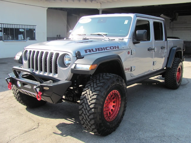 2020 Jeep Gladiator Rubicon(CUSTOM LIFT) Truck Crew Cab
