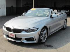 2018 BMW 440i (M SPORT PKG) Convertible